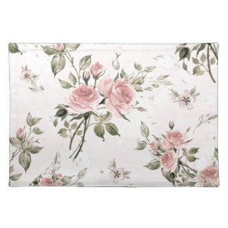 Shabby chic, french chic, vintage,floral,rustic, placemat