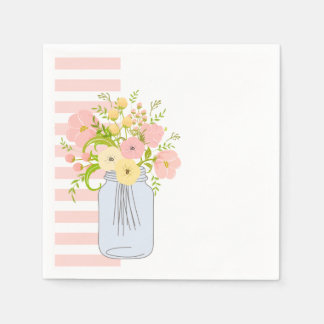 Shabby Chic Garden Delight Disposable Napkin