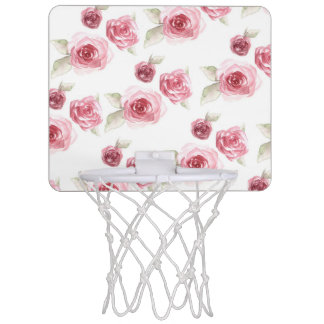 Shabby Chic Mini Basketball Hoop