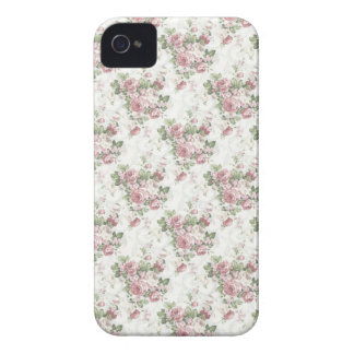 Shabby Chic Pink Roses iPhone4/4S iPhone 4 Case-Mate Cases