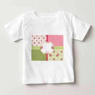 shabby chic roses baby T-Shirt