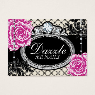 Shabby Chic Roses Nail Salon Gift Certificates