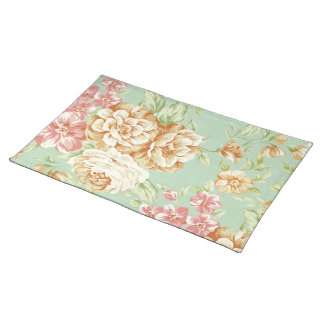 Shabby Chic Roses Placemat