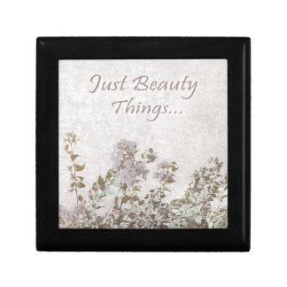 Shabby Chic Style Motivational Quote Gift Box