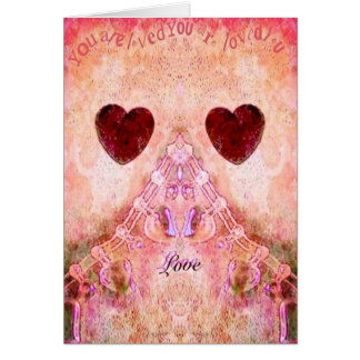 Shabby Chic Valentines card