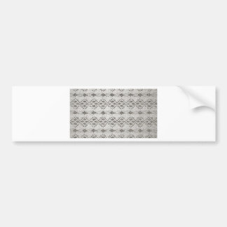 Shabby Chic Vintage Lace Designs Bumper Sticker