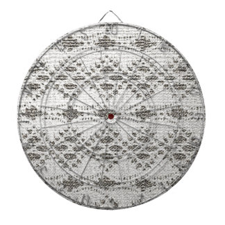 Shabby Chic Vintage Lace Designs Dartboard