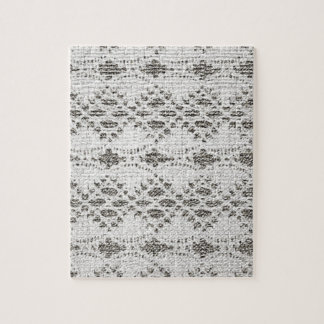 Shabby Chic Vintage Lace Designs Jigsaw Puzzle