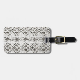Shabby Chic Vintage Lace Designs Luggage Tag