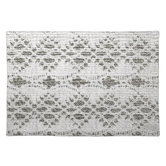 Shabby Chic Vintage Lace Designs Placemat