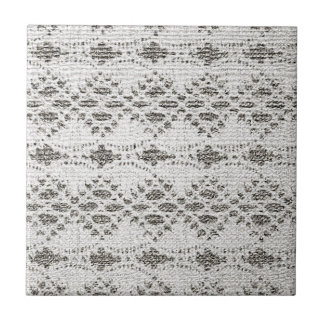 Shabby Chic Vintage Lace Designs Tile