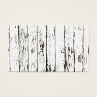 Shabby Chic Weathered Board Business Card