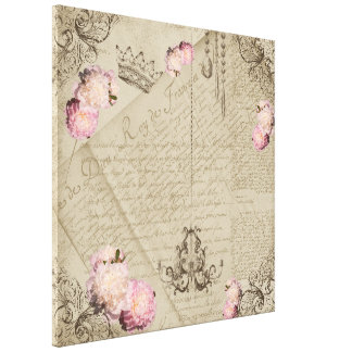 Shabby Chic - Wrapped Canvas