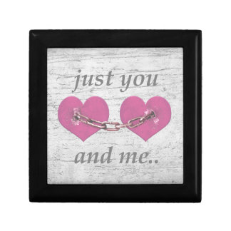 Shabby Chich Love Concept Poster Gift Box