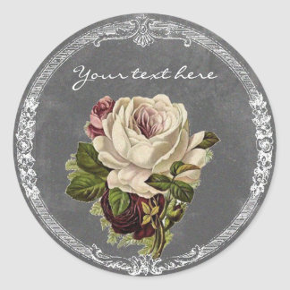 Shabby Chick Vintage Rose Stickers