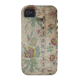 Shabby Cottage Grunge Wallpaper iPhone 4/4S Cases