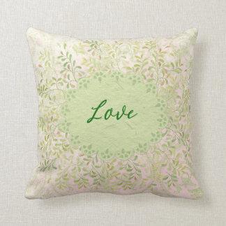 Shabby Love Throw Pillow