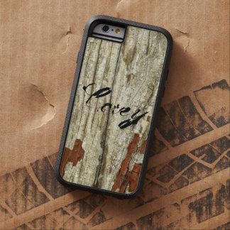 Shabby Old Barn Wood Texture Vintage Peeling Paint Tough Xtreme iPhone 6 Case