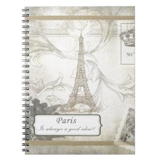 Shabby:  Paris is Always a Good Idea! Notebook