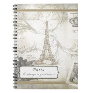 Shabby:  Paris is Always a Good Idea! Notebooks