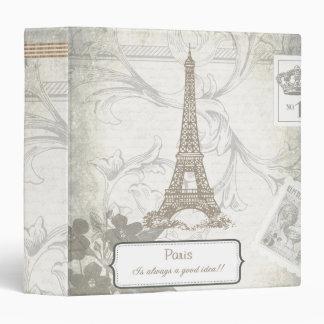 Shabby: Paris is Always a Good Idea Vinyl Binders