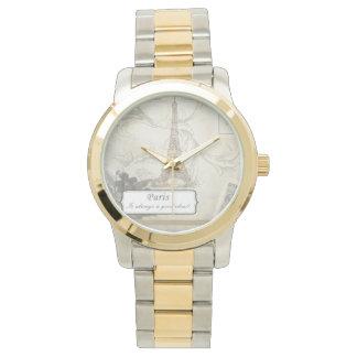 Shabby: Paris is Always a Good Idea! Wrist Watches