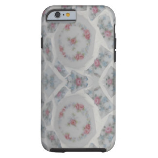 Shabby Pink Rose Mosaic Phone Case