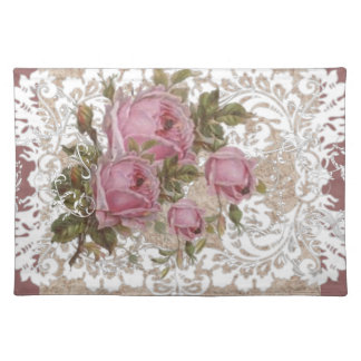Shabby Rose Place Mat
