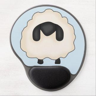 Shabby Sheep Gel Mousepad