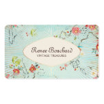 Shabby Vintage Floral Designer Consignment Shop Pack Of Standard Business Cards