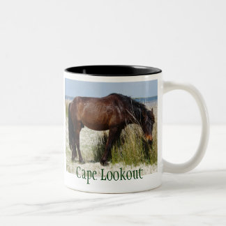 Shackleford Bank Horse Mug