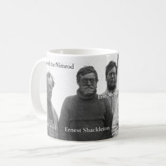 Shackleton and Crew in Antarctic Nimrod picture Coffee Mug