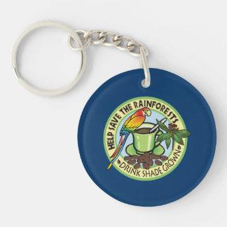 Shade Grown Coffee Acrylic Key Chains