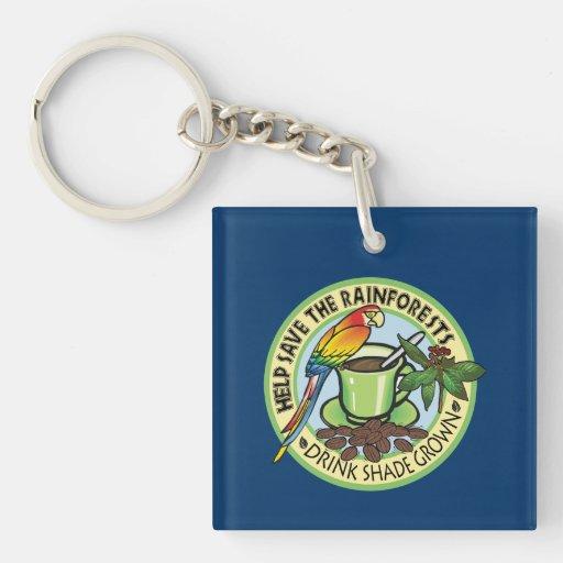 Shade Grown Coffee Acrylic Keychains