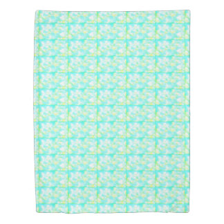 shade of pale green and white duvet cover