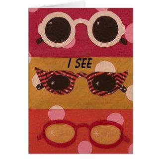 Shade Shapes Sunglasses Birthday Card