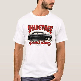 Shade Tree Speed Shop Custom Mercury T-Shirt