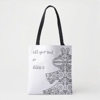 Shade vessel earth occasional tote bag