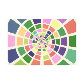 Shades and Hues of Color Wheel Canvas Print
