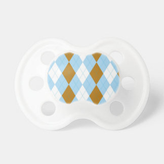 Shades Argyle Pacifiers