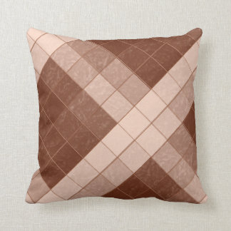 Shades Brown Diamonds Decor-Soft Pillows