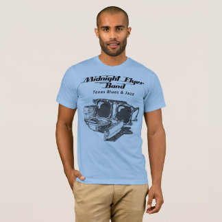 """Shades & Harmonica"" Midnight Flyer Band T-Shirt"