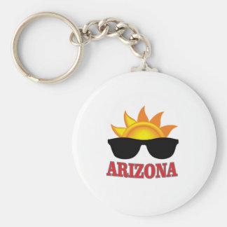shades of arizona yeah keychain