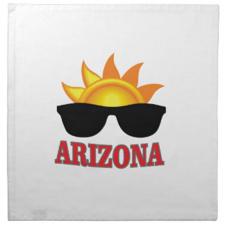 shades of arizona yeah napkin