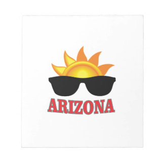 shades of arizona yeah notepad