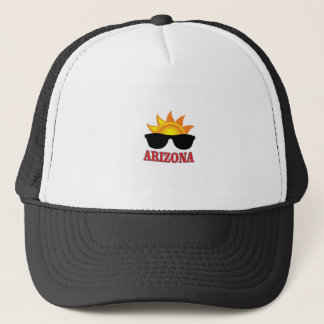 shades of arizona yeah trucker hat