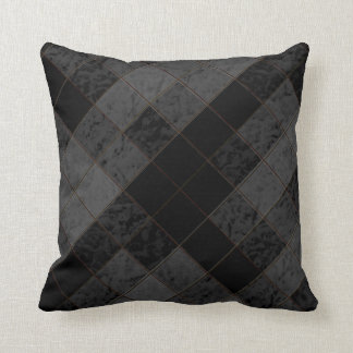 Shades of Black Decor-Soft Modern Pillows