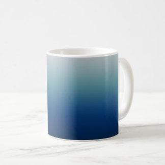 Shades of Blue Customizable Coffee Mug