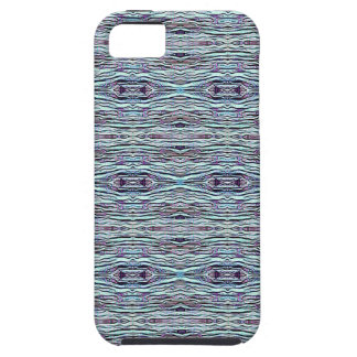Shades of Blue Gray Background Pattern iPhone 5 Cover