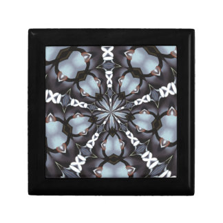 Shades of Blue Kaleidoscope Gift Box